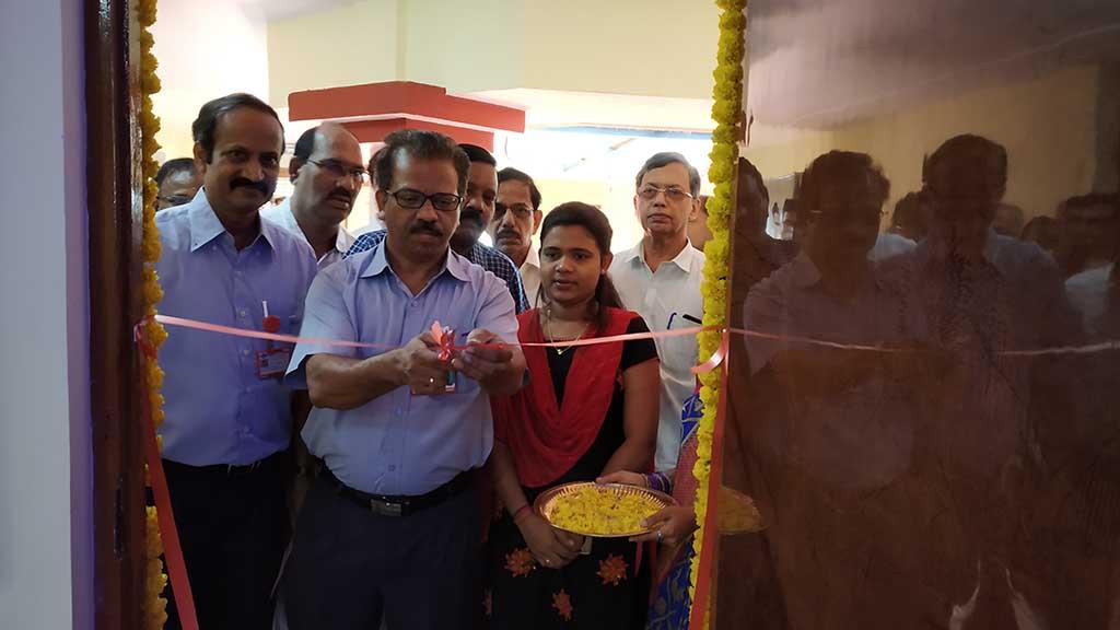 Inauguration of Biology Lab Amenities By Mr.Sunil Salkar CEM MRF