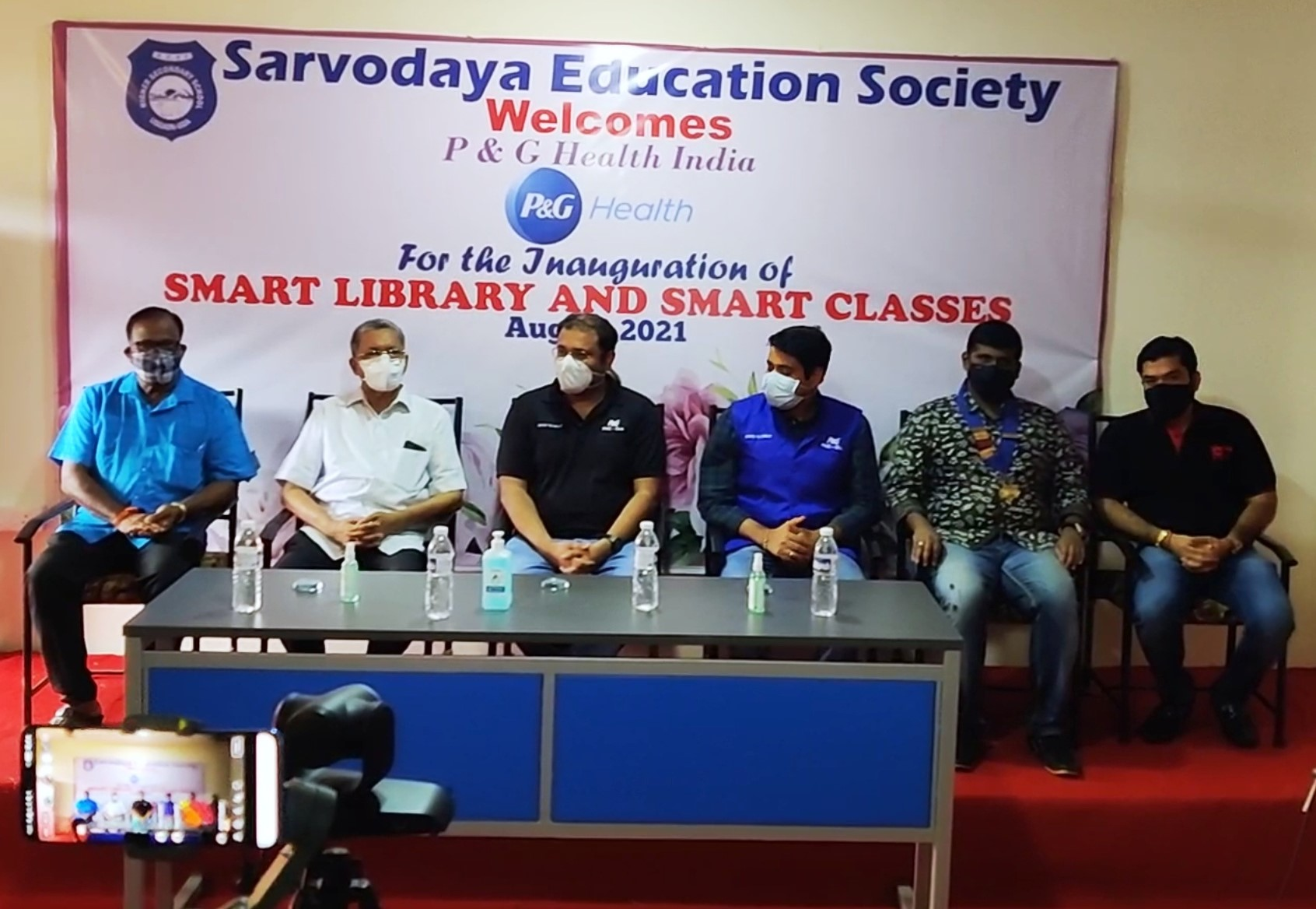 Inauguration of Smart Library & Smart Classrooms